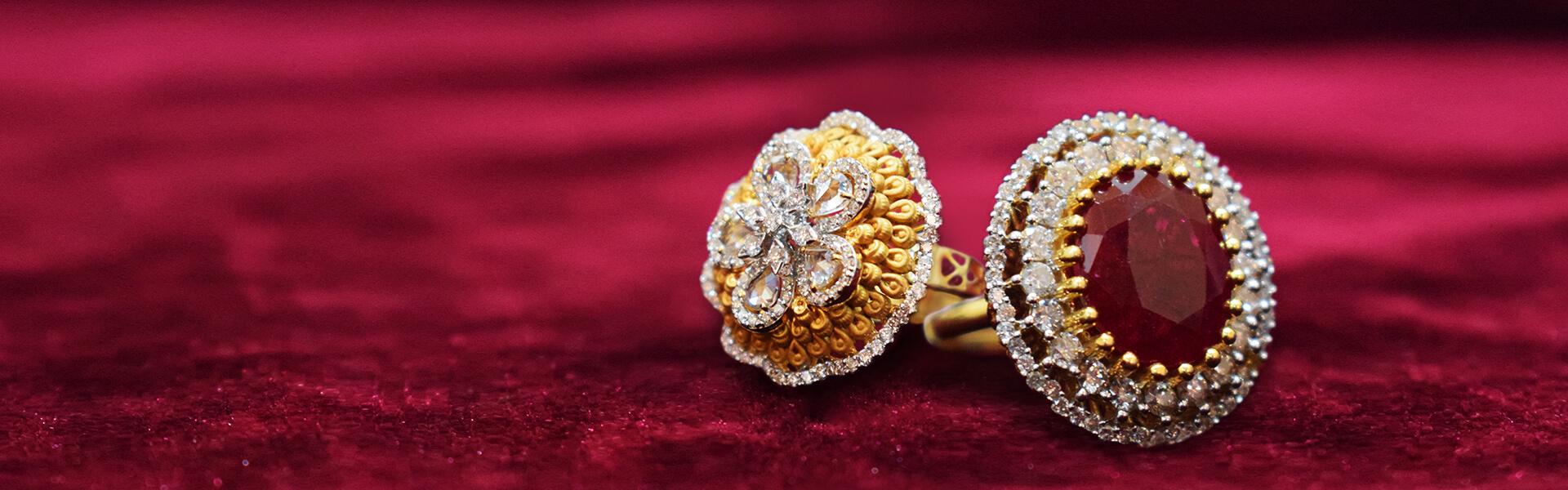 Gold and diamond Ring ddamas